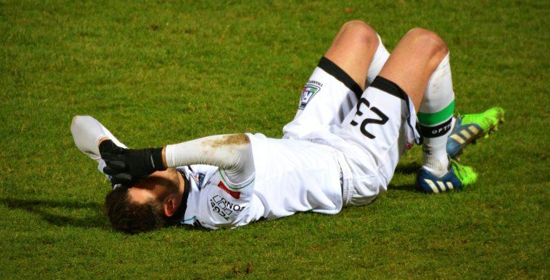 Lesiones deportivas futbol