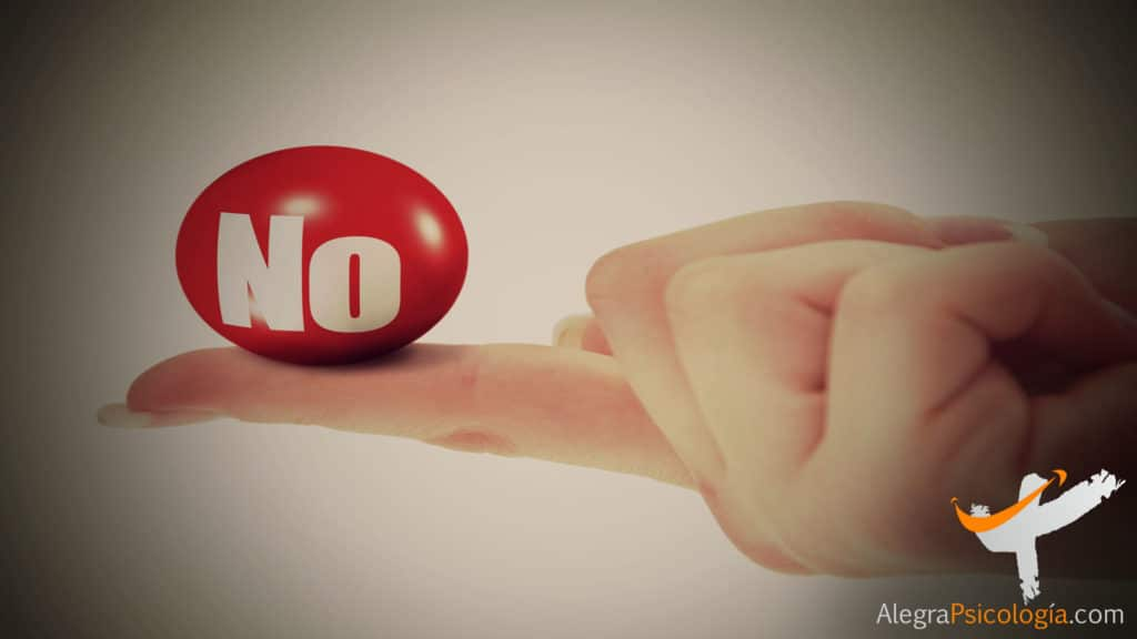 decir que no