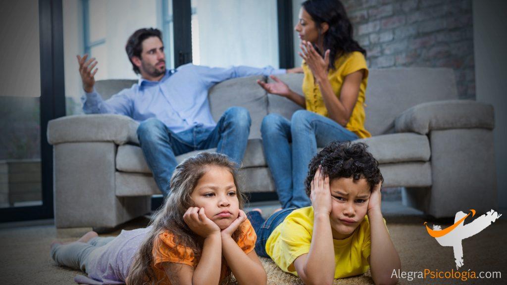 separación con hijos
