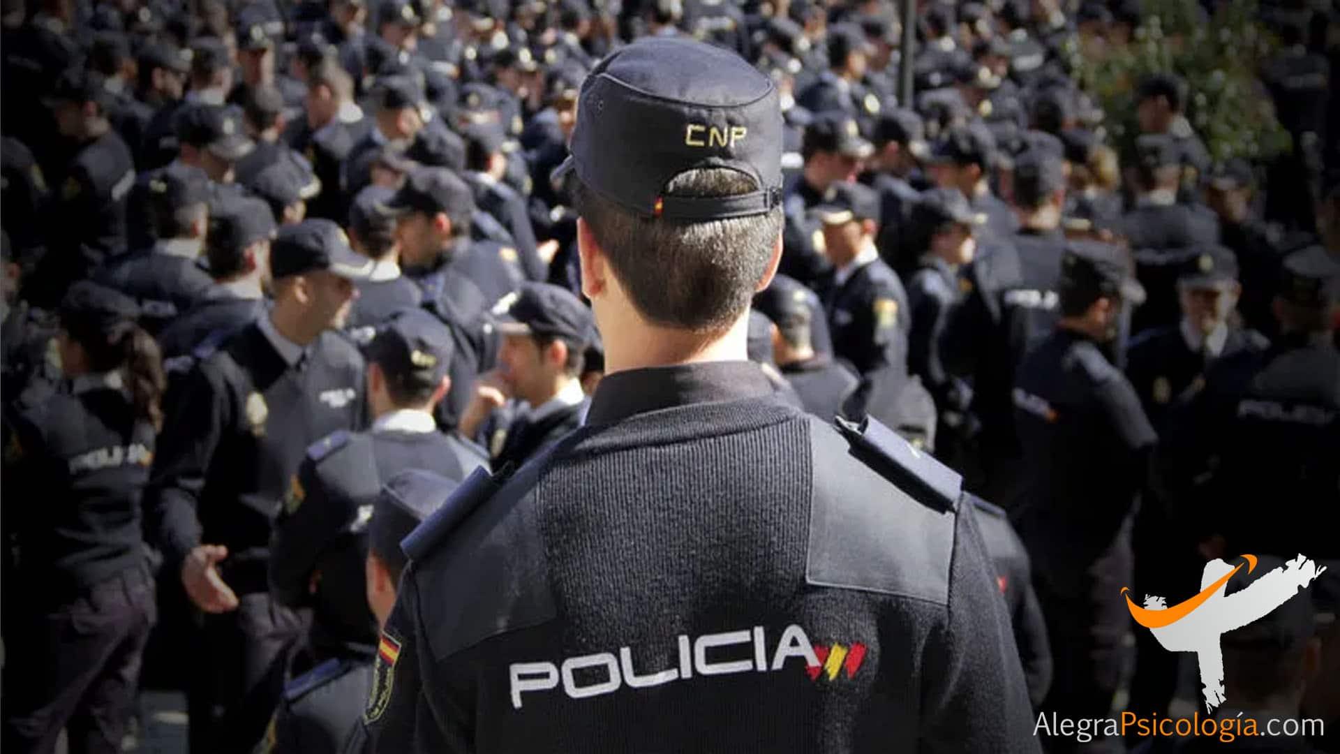 Preparación Psicológica para las preparaciones a policías en psicólogos Málaga