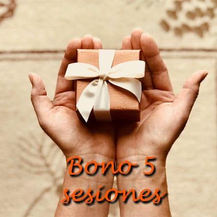 Bono 5 sesiones Alegra Psicólogos Málaga